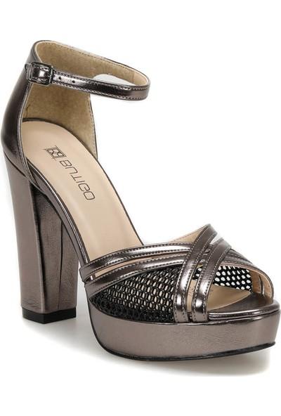 Butigo 19S-368 Antrasit Kadın Topuklu Ayakkabı