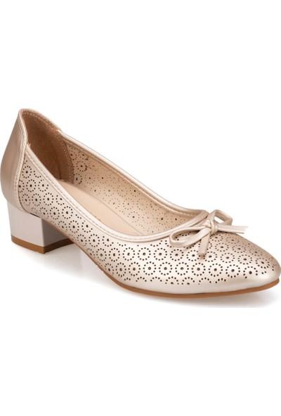 Polaris 91.150712.Z Altın Kadın Ayakkabı