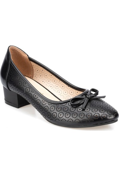 Polaris 91.150712.Z Siyah Kadın Ayakkabı