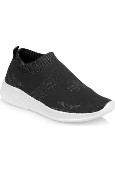 Polaris 91.313378.Z Siyah Kadın Slip On Ayakkabı