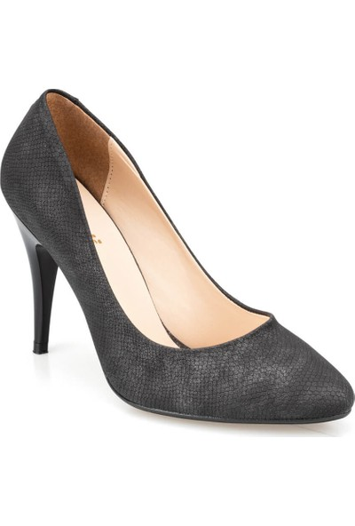 Polaris 91.305097Yz Siyah Kadın Gova Ayakkabı