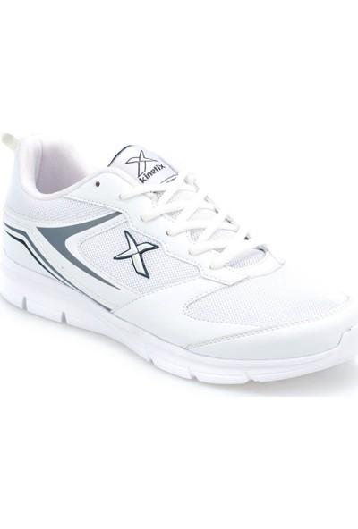 Kinetix Monti Beyaz Gri Lacivert Erkek Koşu Ayakkabısı