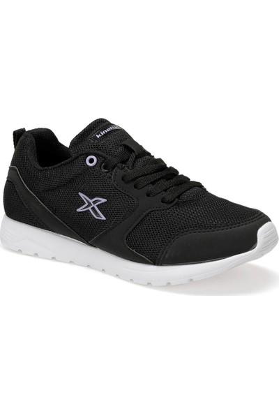 Kinetix Capella W Siyah Lila Kadın Koşu Ayakkabısı