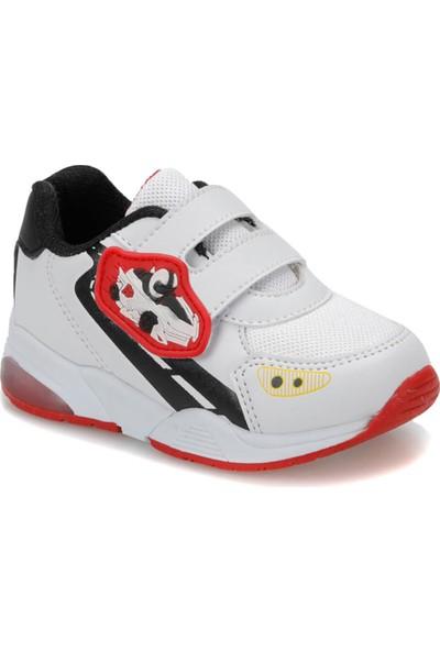 I Cool Road Beyaz Kırmızı Erkek Çocuk Sneaker Ayakkabı