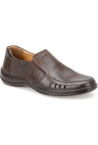 Flogart Mds-11 Kahverengi Erkek Deri Ayakkabı