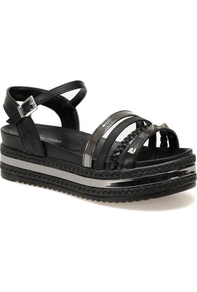 Butigo 19S-396 Siyah Kadın Sandalet