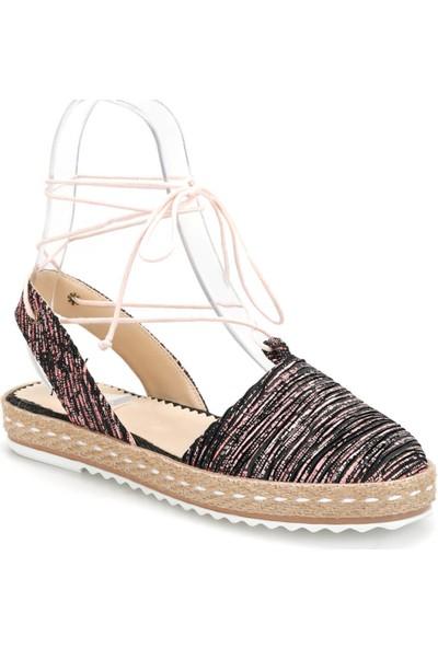 Art Bella Cs19107 Pembe Kadın Espadril Ayakkabı