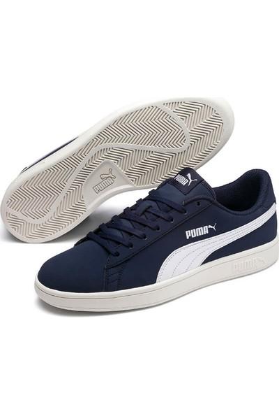 Puma Smash V2 Buck Mavi Beyaz Erkek Sneaker Ayakkabı