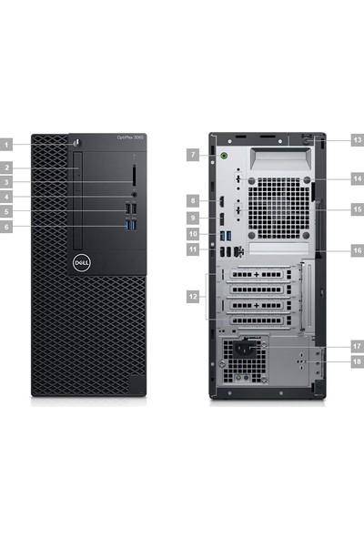 Dell OptiPlex 3060MT Intel Core i5 8500 4GB 1TB Ubuntu Masaüstü Bilgisayar N018O3060MTTR_UBU