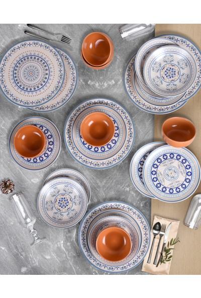 Keramika 24 Parça 6 Kişilik Yemek Takımı Etna 18322