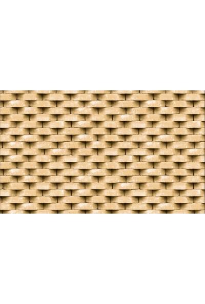 Ardeko 3 Boyutlu Zincir Taş Desen Duvar Kağıdı