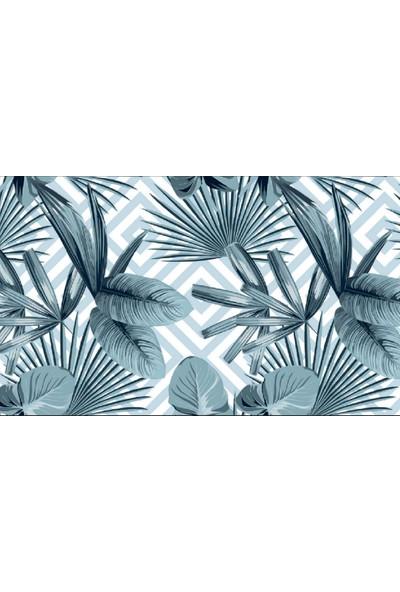 Ardeko 3 Boyutlu Yaprak Desenli Silinebilir Duvar Kağıdı