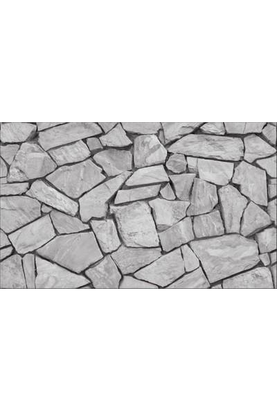 Ardeko 3D Kırık Görünümlü Taş Desen Duvar Kağıdı