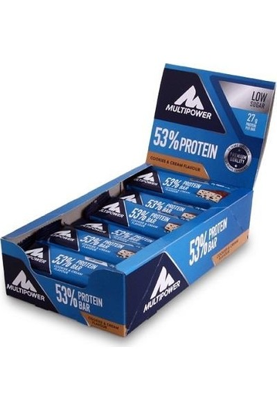 Multipower 50% Protein Bar 50 Gr (24 adet)
