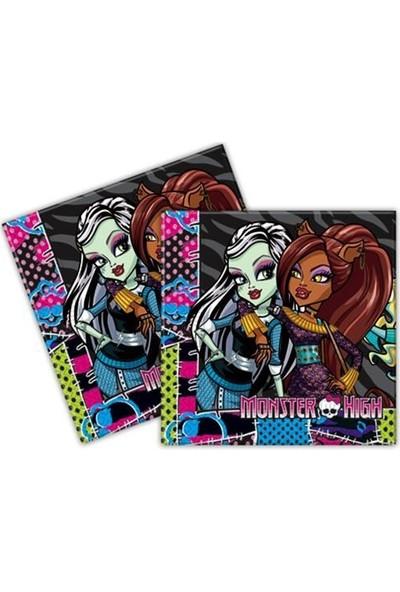 Parti Şöleni Monster High Peçete 20 Adet