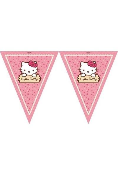 Parti Şöleni Hello Kitty Bayrak 1 Adet