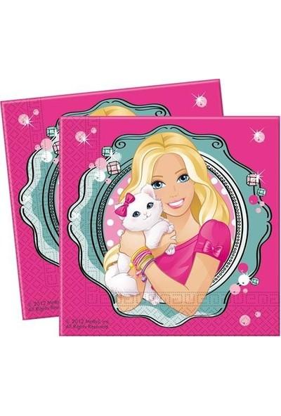 Parti Şöleni Barbie Peçete 20 Adet