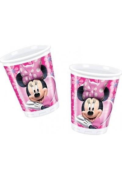 Parti Şöleni Minnie Mouse Bardak 10 Adet