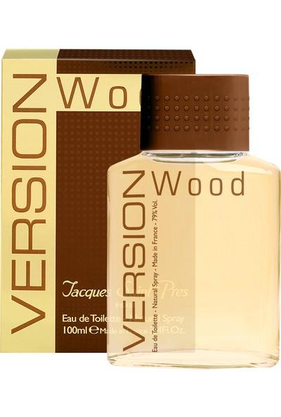 Jacques Saint Prés - Version Wood - EDT 100ML Erkek Parfüm
