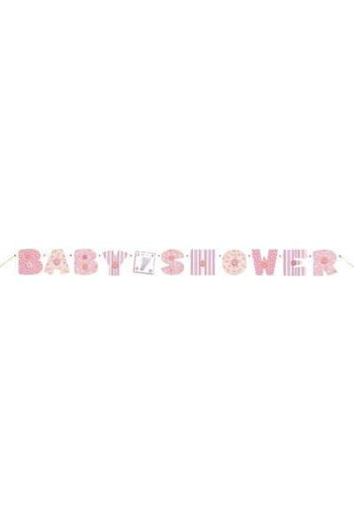 Parti Şöleni Baby Shower Banner
