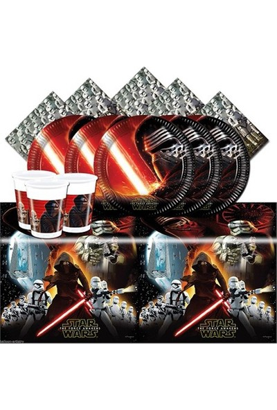 Partypark Star Wars Parti Seti - Basic (16 Kişilik)