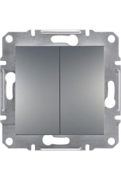 Schneider Electric Asfora Plus Komutator Çelik