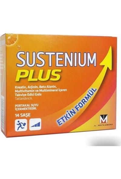 Sustenium Plus 14 Saşe C D Kreatin Magnezyum Demir Çinko Vitaminleri