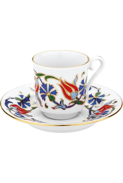 Kütahya Gz12Kt07457 Gözde Kahve Fincan Takimi 6Li
