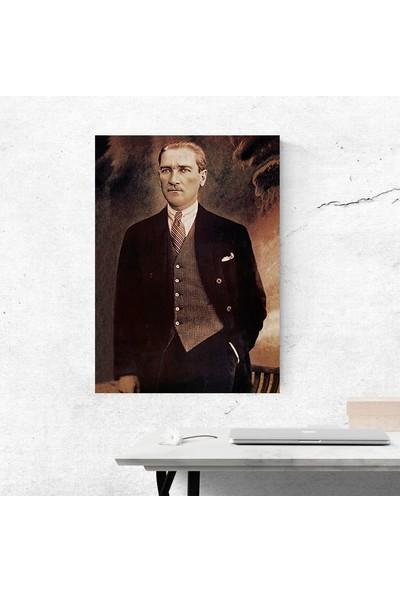 Ega Atatürk Kanvas Tablo