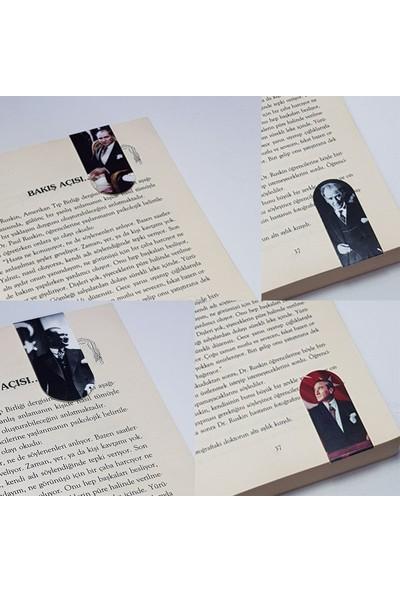 İstisna - Atatürk Mıknatıslı Kitap Ayracı 3 Lü Set