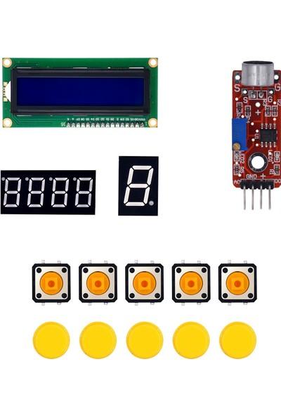 Arduino 168 Parça Uno R3 Robotik Kodlama Profesyonel Rfid Süper Başlangıç Proje Eğitim Seti T4