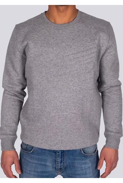 Ozmoz Erkek Sweatshirt Rebel - Gri