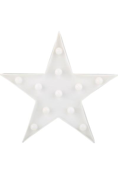 Atölye Taşhane Dekoratif Çocuk Odası Gece Lambası Yıldız
