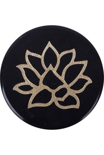Kısmetce Lotus Mermer Bardak Altlığı