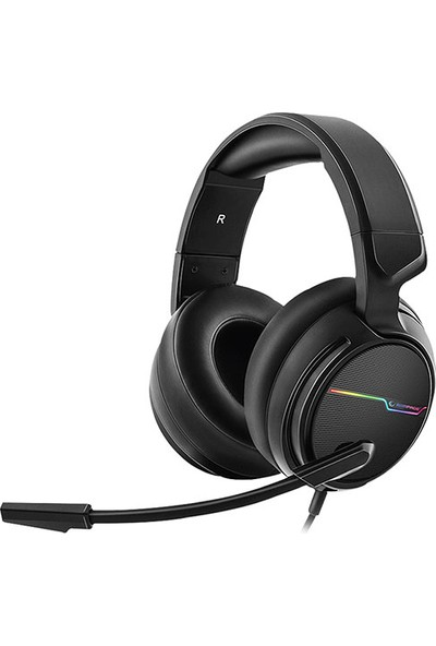 Rampage RGW9 Comfort Siyah USB 7.1 RMikrofonlu Oyuncu Kulaklık