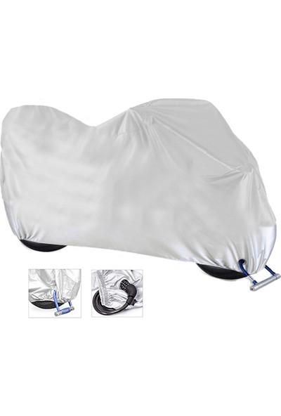 AutoEN Honda PCX Motosiklet Brandası (Arka Çanta,Topcase ve Güvenlik Kilidi Uyumlu)