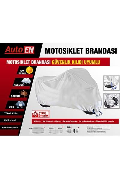 AutoEN Honda CBF 600 Motosiklet Brandası (Güvenlik Kilidi Uyumlu)