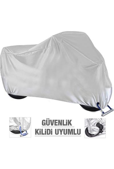 AutoEN SYM Fiddle 3 Motosiklet Brandası (Güvenlik Kilidi Uyumlu)