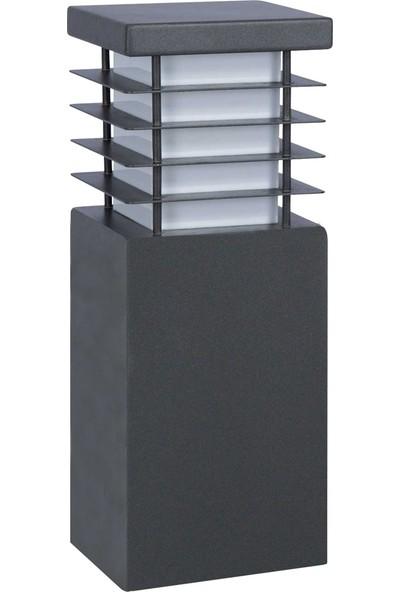 Yakan Aydınlatma Moder Bega Armatür 22 cm x 22 cm Kare Petekli Uzun Çim Modern Bollard Lights
