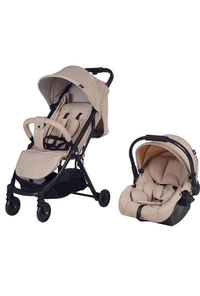 Sunny Baby Iris Travel Sistem Bebek Arabası Bej