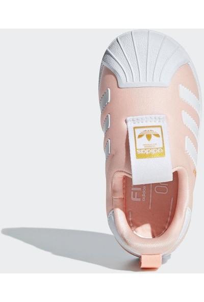 Adidas Bebek Günlük Ayakkabı Spor Pembe Db2882 Superstar 360 i