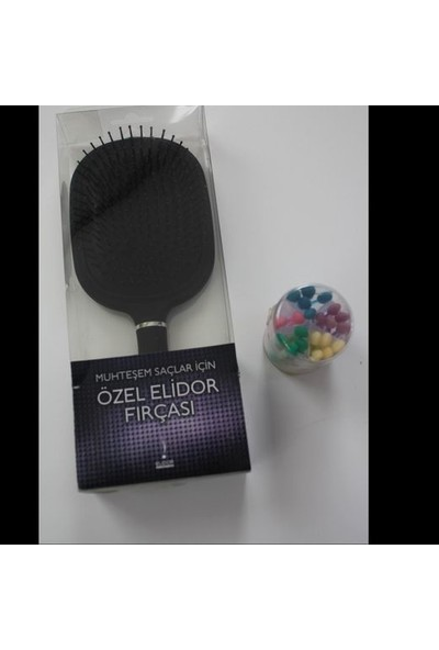 Elidor Saç Fırçası (Tarak) Muhteşem Saçlar için Özel Elidor Fırçası