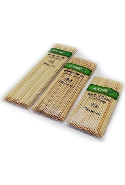 Ethex Bambu Çöp şiş 100'lü