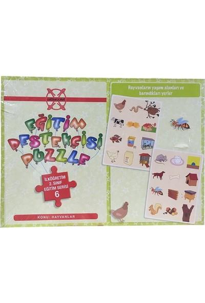 Gordion İlköğretim 2.Sınıf Eğitim Destekçisi Hayvanlar 48 Parça