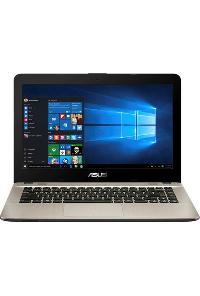 ASUS X441NA-GA001T Intel Celeron N3350 4GB 500GB Windows 10 Home 14'' Taşınabilir Bilgisayar