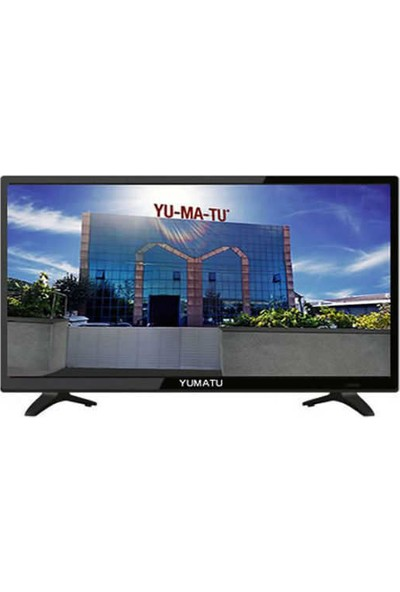 """Yumatu YMT32 Full HD 32"""" 82 Ekran Dahili Uydu Alıcılı Slim LED TV"""