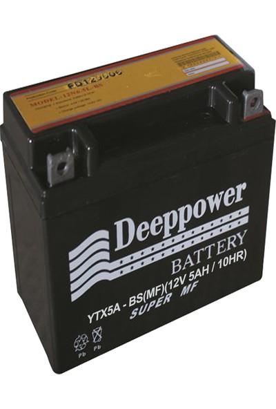 Deep Power Ytx5A -Bs 12 V 5Ah /10 Hr Cup Aküsü