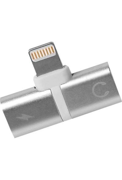 Dark Lightning Şarj ve Ses Veri Aktarım Kablosu (DK-AC-CPIX2)