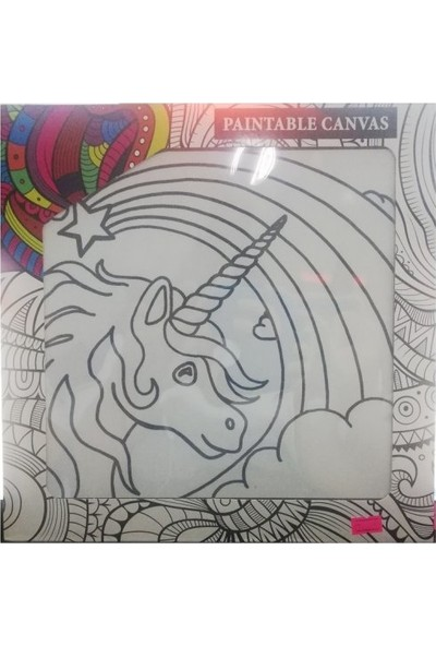 Paintable Canvas 18