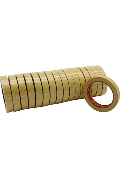 Akrimask Sarı Kağıt Maskeleme Bandı 18X35 16'Lı Paket